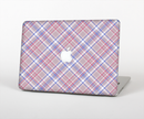 "The Pink and Blue Layered Plaid Pattern V4 Skin Set for the Apple MacBook Pro 15"" with Retina Display"