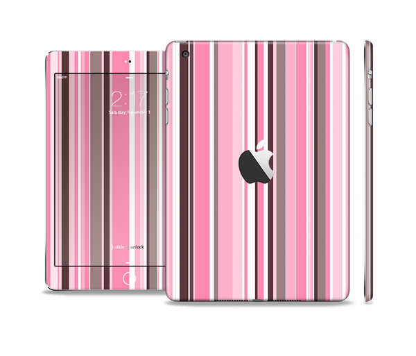 All Models Available The Pink and Black Rose Pattern V3 Skin Set for the Apple iPad