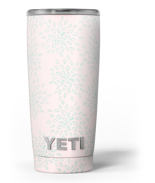 The_Pink_and_Mint_Floral_Sprout_-_Yeti_Rambler_Skin_Kit_-_20oz_-_V3.jpg