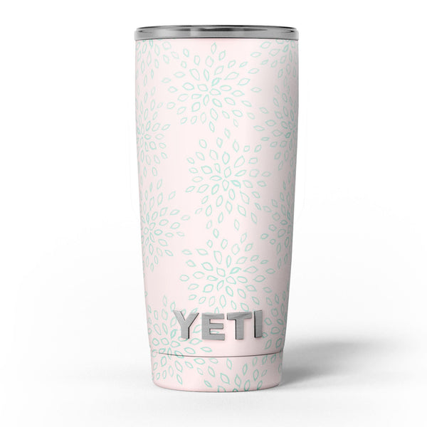 The_Pink_and_Mint_Floral_Sprout_-_Yeti_Rambler_Skin_Kit_-_20oz_-_V5.jpg