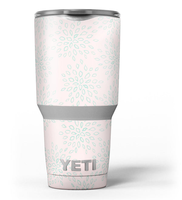 The_Pink_and_Mint_Floral_Sprout_-_Yeti_Rambler_Skin_Kit_-_30oz_-_V3.jpg