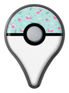 The Pink and Mint Watermelon Cocktail Pattern Pokémon GO Plus Vinyl Protective Decal Skin Kit
