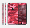 The Pink and Red Tradtional Camouflage Skin for the Apple iPhone 6