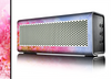 The Pink to Blue Faded Color Floral Skin for the Braven 570 Wireless Bluetooth Speaker