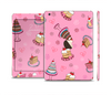 The Pink with Yummy Cakes Full Body Skin Set for the Apple iPad Mini 3