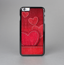 The Pocket with Red Scratched Hearts Skin-Sert for the Apple iPhone 6 Skin-Sert Case