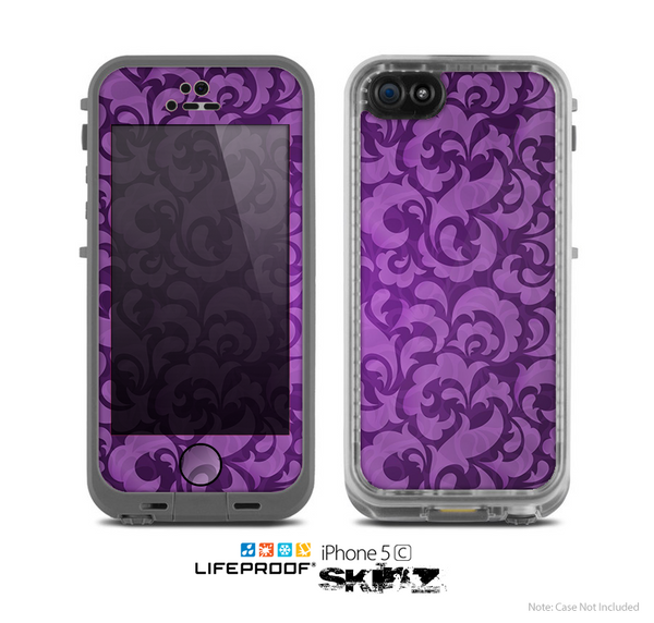 iphone 5c purple the purple bright lace pattern skin for the apple iphone 11122