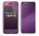The Purple Dust Skin for the Apple iPhone 5c