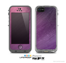 The Purple Dust Skin for the Apple iPhone 5c LifeProof Case