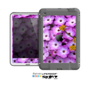 The Purple Flowers Skin for the Apple iPad Mini LifeProof Case