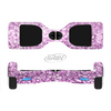 The Purple Glimmer Full-Body Skin Set for the Smart Drifting SuperCharged iiRov HoverBoard