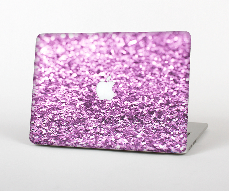 "The Purple Glimmer Skin Set for the Apple MacBook Pro 15"" with Retina Display"