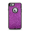 The Purple Glitter Ultra Metallic Apple iPhone 6 Otterbox Defender Case Skin Set