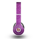 The Purple Glitter Ultra Metallic Skin for the Beats by Dre Original Solo-Solo HD Headphones