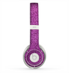 The Purple Glitter Ultra Metallic Skin for the Beats by Dre Solo 2 Headphones