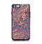 The Purple, Green, and Blue Vector Floral Pattern Apple iPhone 6 Otterbox Symmetry Case Skin Set