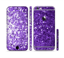 The Purple Shaded Sequence Sectioned Skin Series for the Apple iPhone 6s