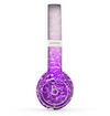 The Purple & Silver Glimmer Fade Skin Set for the Beats by Dre Solo 2 Wireless Headphones