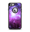 The Purple Space Neon Explosion Apple iPhone 6 Otterbox Defender Case Skin Set