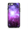 The Purple Space Neon Explosion Apple iPhone 6 Otterbox Symmetry Case Skin Set