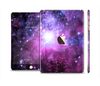 The Purple Space Neon Explosion Full Body Skin Set for the Apple iPad Mini 3