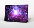 "The Purple Space Neon Explosion Skin Set for the Apple MacBook Pro 15"" with Retina Display"