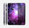 The Purple Space Neon Explosion Skin for the Apple iPhone 6 Plus