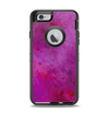 The Purple Water Colors Apple iPhone 6 Otterbox Defender Case Skin Set