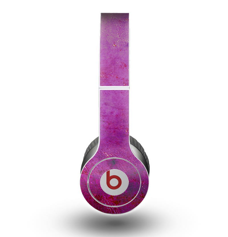 The Purple Water Colors Skin for the Beats by Dre Original Solo-Solo HD Headphones