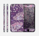The Purple & White Butterfly Elegance Skin for the Apple iPhone 6