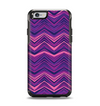 The Purple and Pink Overlapping Chevron V3 Apple iPhone 6 Otterbox Symmetry Case Skin Set