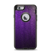 The Purpled Crackled Pattern Apple iPhone 6 Otterbox Defender Case Skin Set