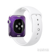 The Purpled Crackled Pattern Full-Body Skin Kit for the Apple Watch