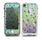 The RainBow WaterDrops Skin for the iPhone 5-5s fre LifeProof Case