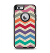 The Rainbow Chevron Over Digital Camouflage Apple iPhone 6 Otterbox Defender Case Skin Set