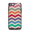 The Rainbow Chevron Over Digital Camouflage Apple iPhone 6 Otterbox Symmetry Case Skin Set
