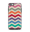 The Rainbow Chevron Over Digital Camouflage Apple iPhone 6 Plus Otterbox Symmetry Case Skin Set