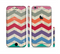 The Rainbow Chevron Over Digital Camouflage Sectioned Skin Series for the Apple iPhone 6 Plus