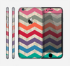 The Rainbow Chevron Over Digital Camouflage Skin for the Apple iPhone 6