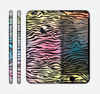 The Rainbow Colored Vector Black Zebra Print Skin for the Apple iPhone 6