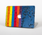 "The Rainbow Colored Water Stripes Skin Set for the Apple MacBook Pro 15"" with Retina Display"