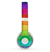 The Rainbow Highlighted Wooden Planks Skin for the Beats by Dre Solo 2 Headphones