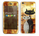 The Range Grungy Textured Cat Skin for the Apple iPhone 5c