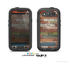 The Raw Vintage Wood Panels Skin For The Samsung Galaxy S3 LifeProof Case