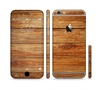 The Raw WoodGrain Sectioned Skin Series for the Apple iPhone 6 Plus