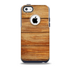 The Raw WoodGrain Skin for the iPhone 5c OtterBox Commuter Case