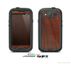 The Raw Wood Grain Texture Skin For The Samsung Galaxy S3 LifeProof Case