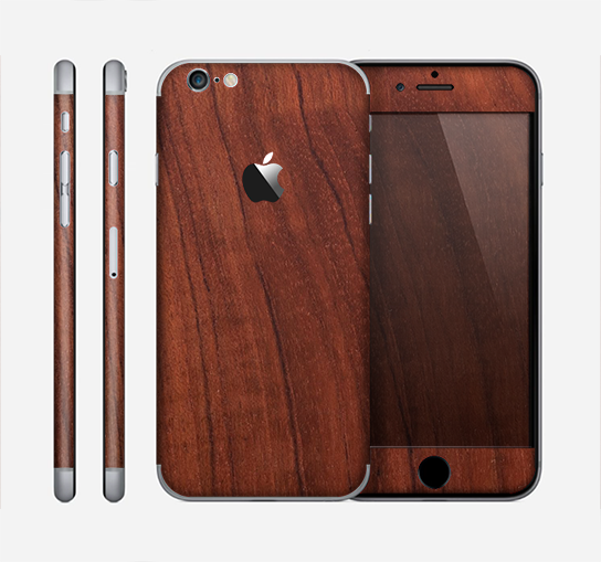 The Raw Wood Grain Texture Skin for the Apple iPhone 6