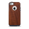 The Raw Wood Grain Texture Skin for the iPhone 5c OtterBox Commuter Case
