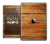The Raw Wood Planks Skin for the iPad Air